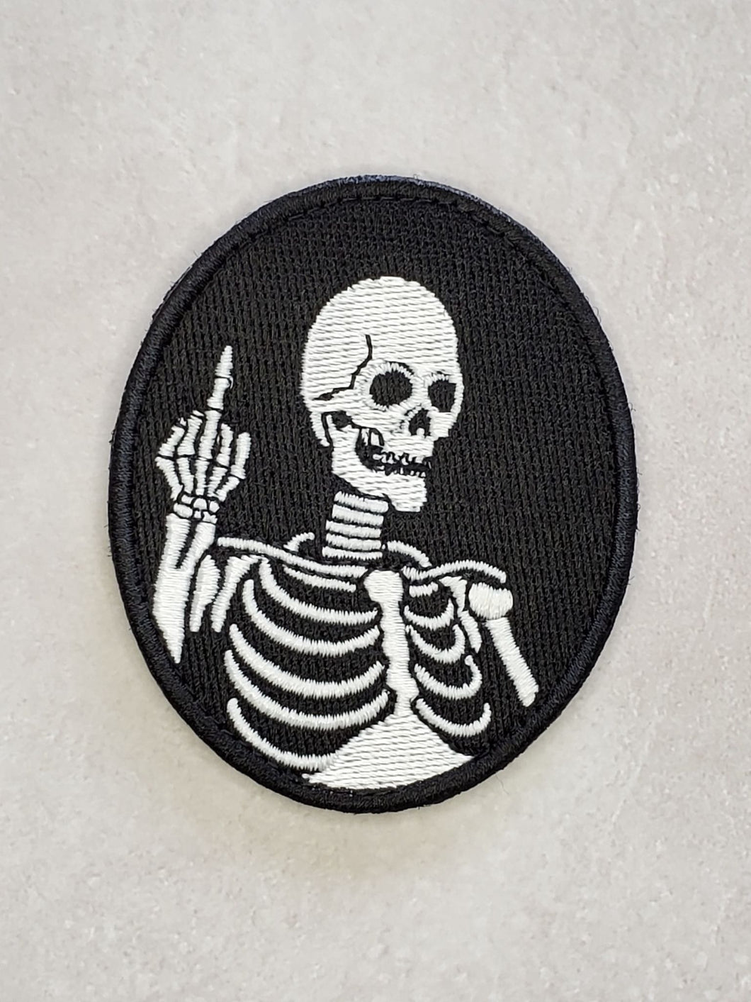 F*** Death Morale Embroidered Patch
