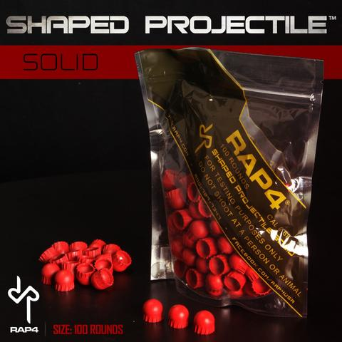 Shaped Projectiles (solid 100 red)