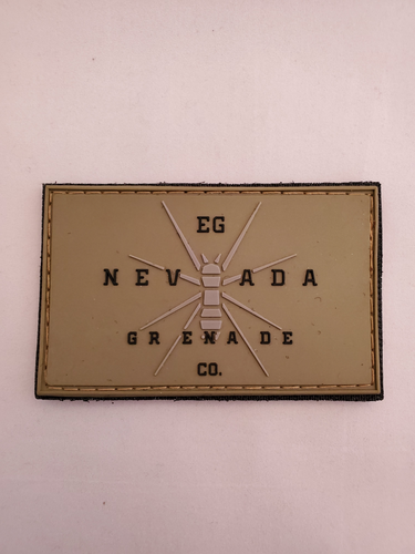EG Nevada Grenade CO PVC Patch