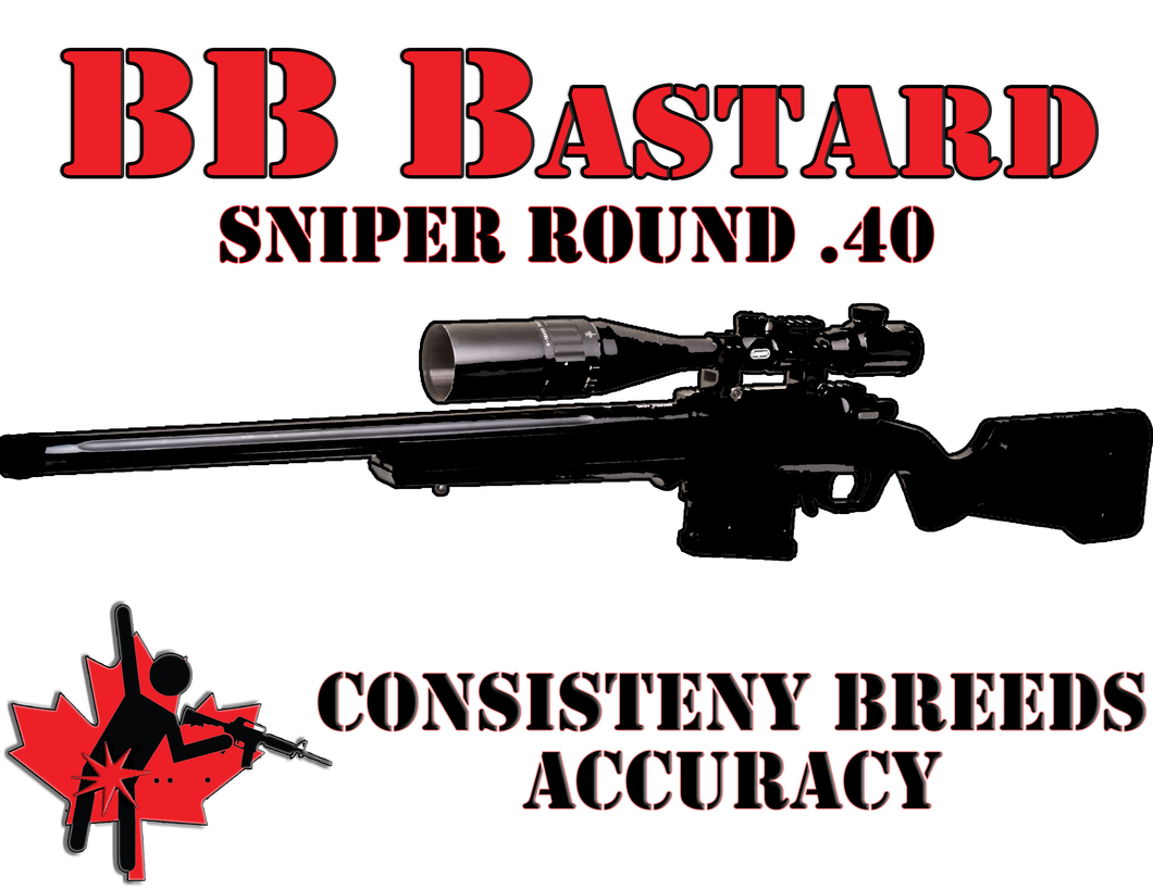 BB Bastards .40 bio 6mm 1000 round Bag