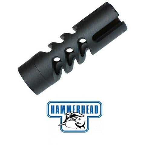 Hammerhead Snaggle Tooth Muzzle Brake 22 Muzzle Threads