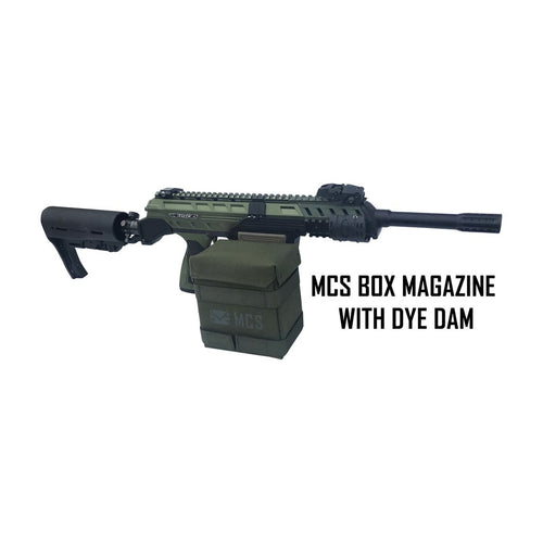 MCS GEN2 BOX DRIVE MAGAZINE FOR DYE DAM PAINTBALL GUN