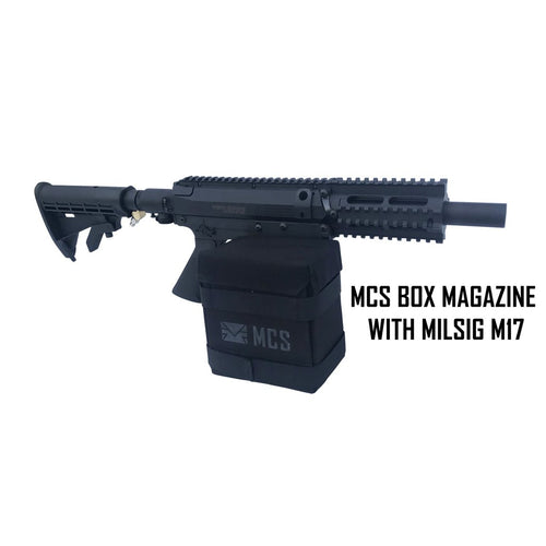 MCS GEN 2 BOX DRIVE MAGAZINE FOR MILSIG M17 PAINTBALL GUN