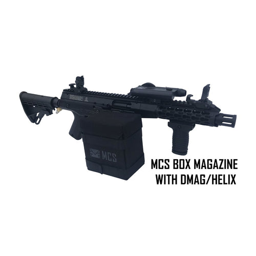 MCS GEN2 BOX DRIVE MAGAZINE FOR TACAMO BOLT/BLIZZARD/HURRICANE/TORNADO / VORTEX/MKP/MKV/MK5 WITH ROUND COLLAR