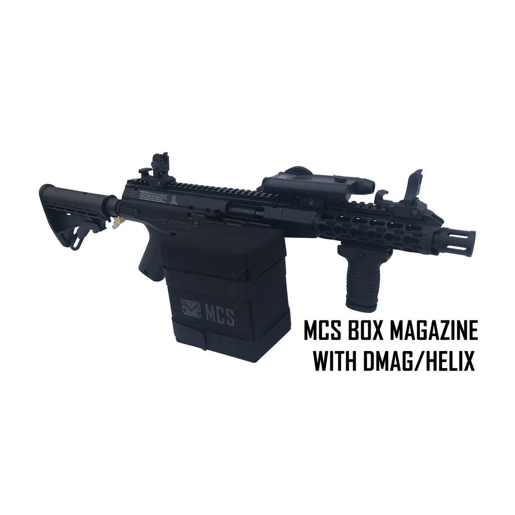 MCS BOX DRIVE MAGAZINE FOR TACAMO BOLT/BLIZZARD/HURRICANE/TORNADO / VORTEX/MKP/MKV/MK5 WITH ROUND COLLAR