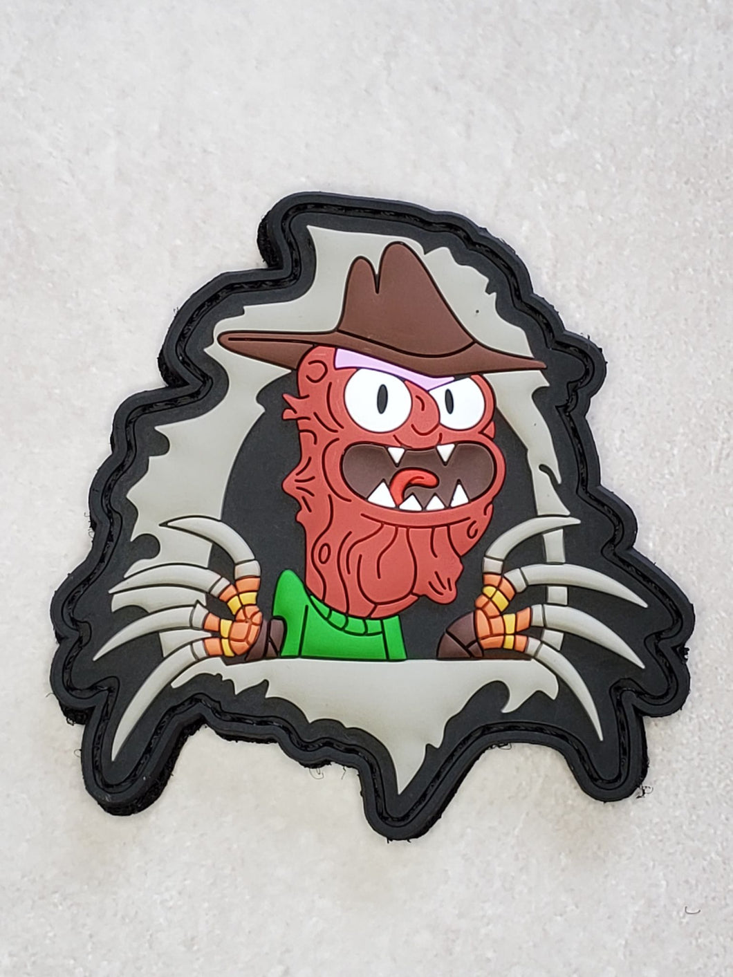 Ripper Scary Terry 3D PVC Morale patch