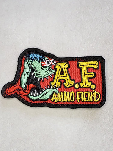 Ammo Fiend V2 Embroidered Morale Patch