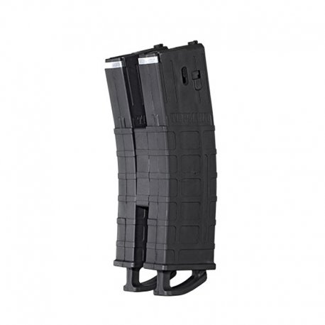 TMC Mag Black-2 Pack with Magazine Coupler