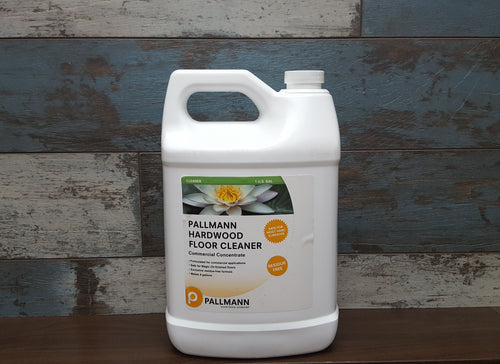 Pallmann Hardwood Floor Cleaner Concentrate, 1 Gallon