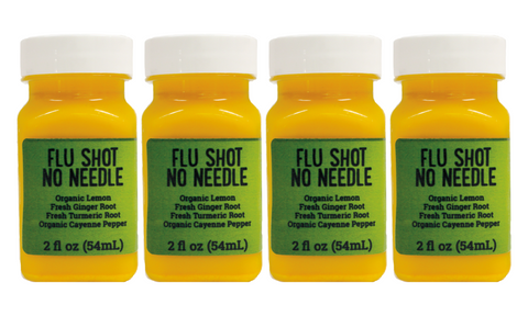 Flu Shot No Needle 2oz - 4 Pack