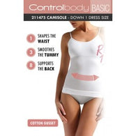 Control Body 211475 Shaping Camisole Bianco