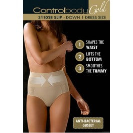 Control Body 311028G Shaping Brief Nero
