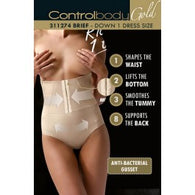 Control Body 311274G Corset Shaping Brief Skin