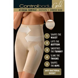 Control Body 410466G Shaping Girdle Bianco