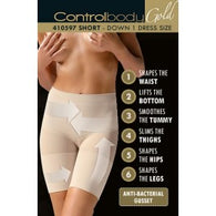 Control Body 410597G Shaping Shorts Bianco