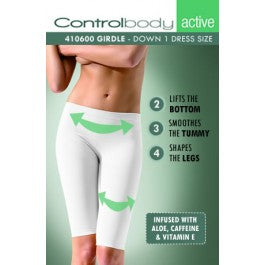 Control Body 410600A Infused Shaping Leggings Skin