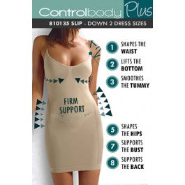 Control Body 810135 Shaping Slip Nero