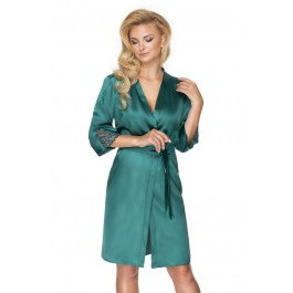 Irall Emerald Dressing Gown Green