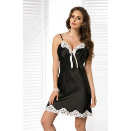 Irall Alexandra Nightdress Black