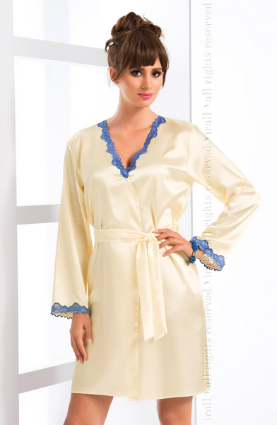 Irall Gloria Dressing Gown Cream