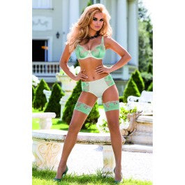 Roza Caryca Soft Cup Bra Cream/Mint