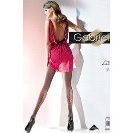 Gabriella Fantasia Zafira 364 Tights Nero
