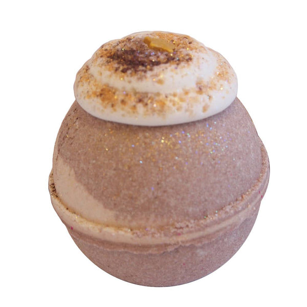 Indulgence by SV.Soaps - Chestnut Brown Sugar Bath Bomb - Simple Pleasures ~ Bountiful Treasures