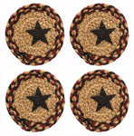 BlackBerry Star Braided Coaster - Simple Pleasures ~ Bountiful Treasures