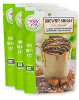 Salted Caramel Brownie Single - Simple Pleasures ~ Bountiful Treasures