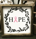 Pizza and a Project Framed Farmhouse Sign - Simple Pleasures ~ Bountiful Treasures
