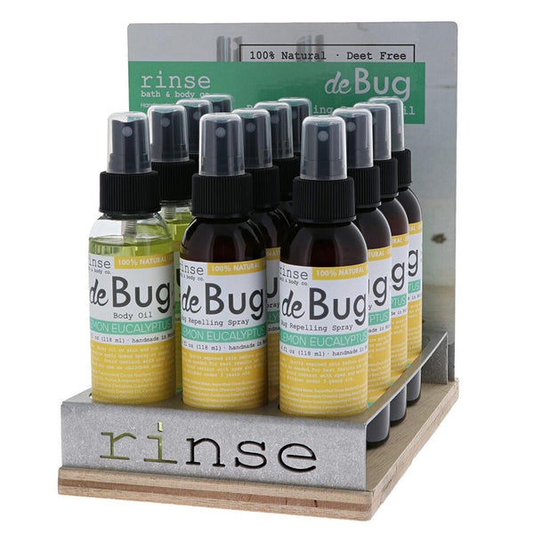 Rinse Bath Body Inc - DeBug Display