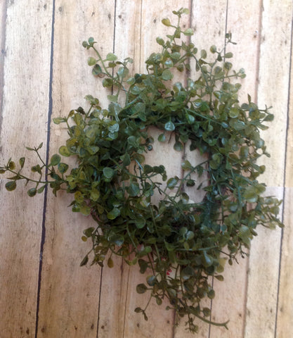Baby Grass Mini Wreath - Simple Pleasures ~ Bountiful Treasures