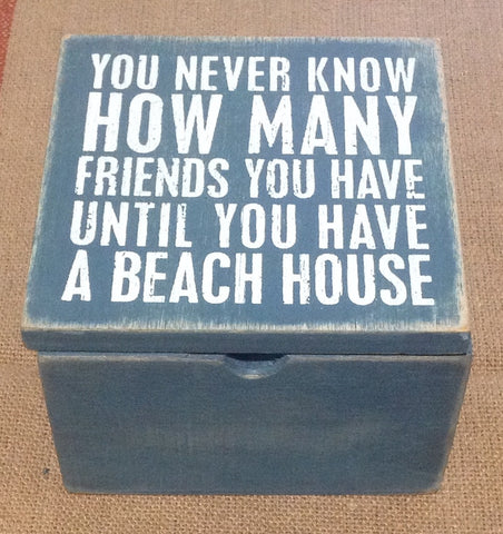 Beach House Mini Box