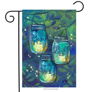 Be a light Garden Flag - Simple Pleasures ~ Bountiful Treasures