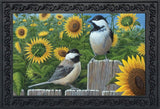 Chickadee & Sunflower - Simple Pleasures ~ Bountiful Treasures