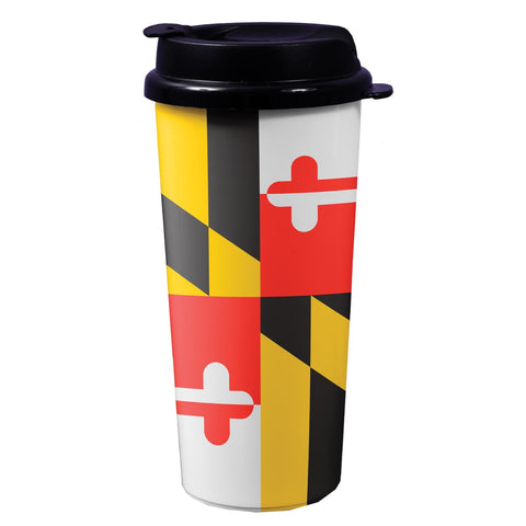 Maryland or Old Bay Travel Mug