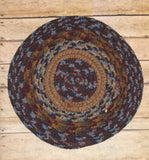 "8"" Braided Trivet - Simple Pleasures ~ Bountiful Treasures"