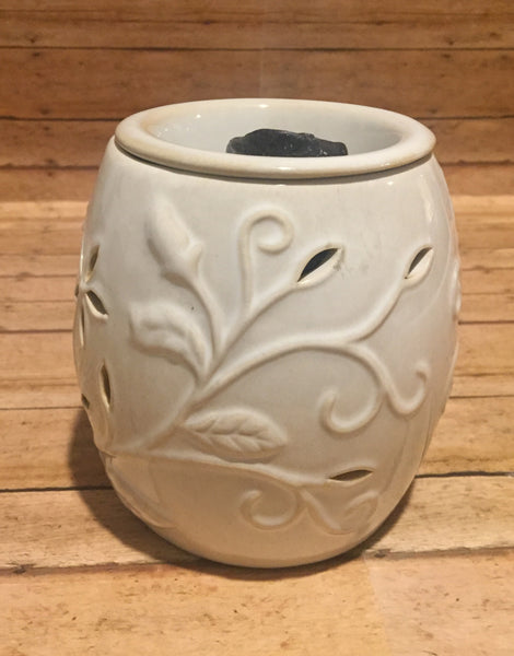 Beige Vine Wax Warmer