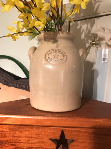 American Pottery Crock