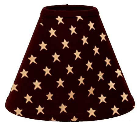 Black Star Lamp Shade