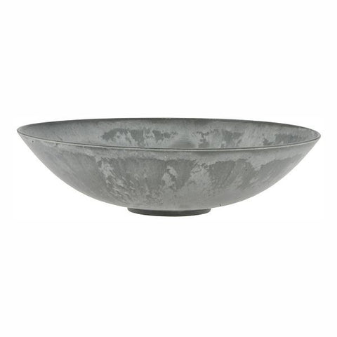 "11"" Round Plastic Slate Bowl - Simple Pleasures ~ Bountiful Treasures"