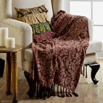 Berkeley Chenile Throw - Simple Pleasures ~ Bountiful Treasures