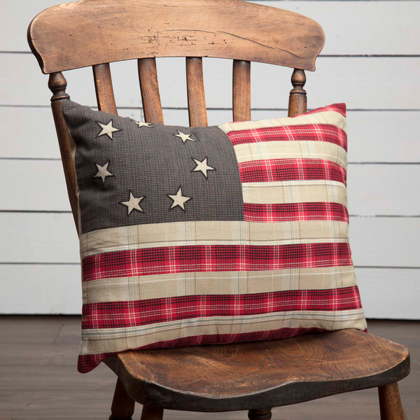 Liberty Stars Pillow - Simple Pleasures ~ Bountiful Treasures