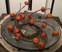 Pumpkin Wreath ring - Simple Pleasures ~ Bountiful Treasures