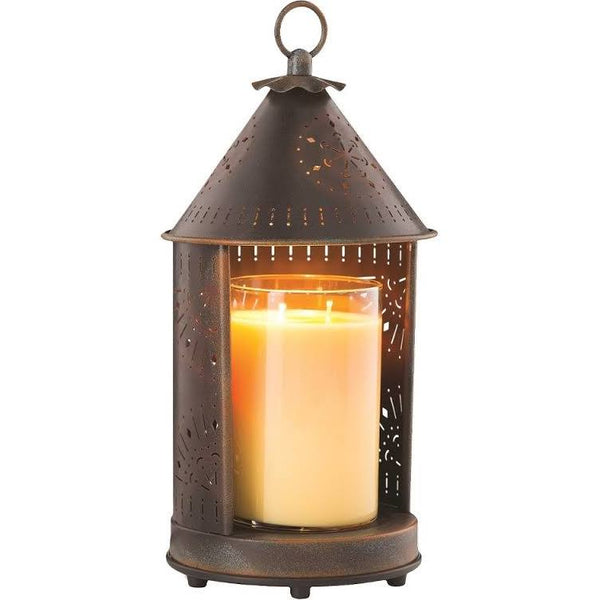 Sunshine Punched Tin Candle Warmer - Simple Pleasures ~ Bountiful Treasures