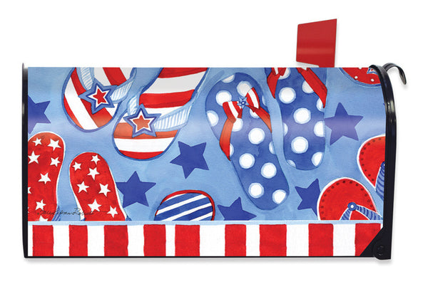 Summer Fun Mailbox Cover