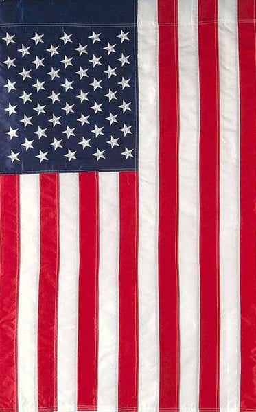 Embroidered Americana Flag - Simple Pleasures ~ Bountiful Treasures