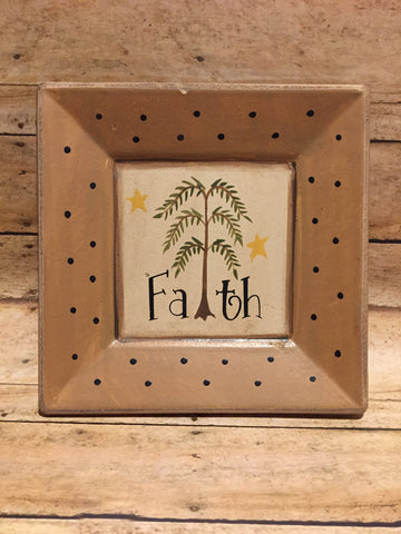 Faith Willow Plate