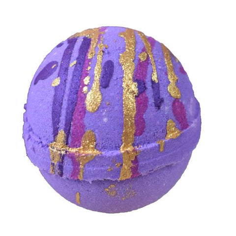 Indulgence by SV.Soaps - Black Currant Bath Bomb