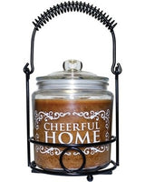 Cheerful Home w black holder - Simple Pleasures ~ Bountiful Treasures